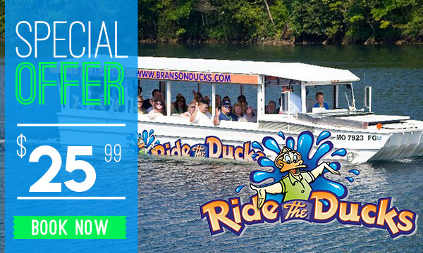 Discount Tickets to Ride the Ducks Branson MO