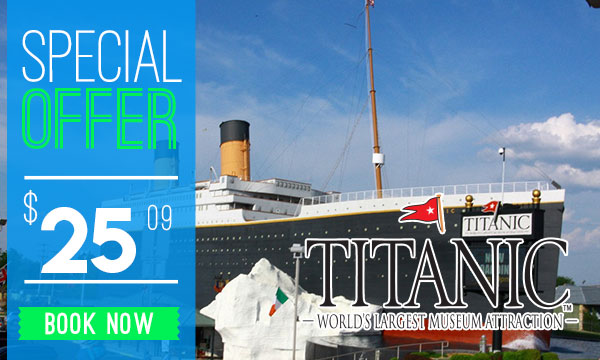 Titantic Museum Discount Tickets Branson Missouri